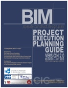 Image of the BIM Project Exeuction Planning Guide Cover